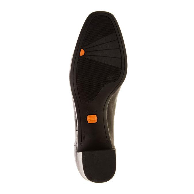 Leather Pumps flexible, black , 624-6706 - 26