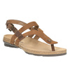 Ladies' leather sandals weinbrenner, brown , 566-4101 - 13