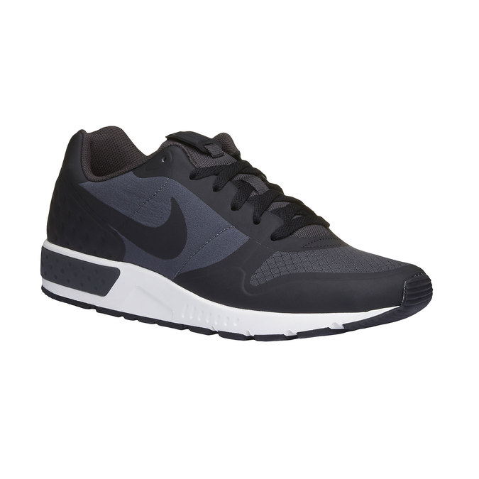 Men's sneakers in a sports style nike, black , 809-6328 - 13