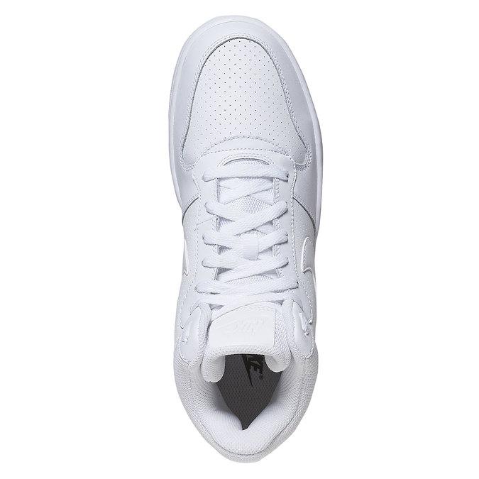 White ankle sneakers nike, white , 801-1332 - 19