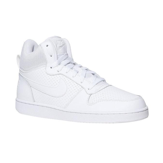 White ankle sneakers nike, white , 801-1332 - 13