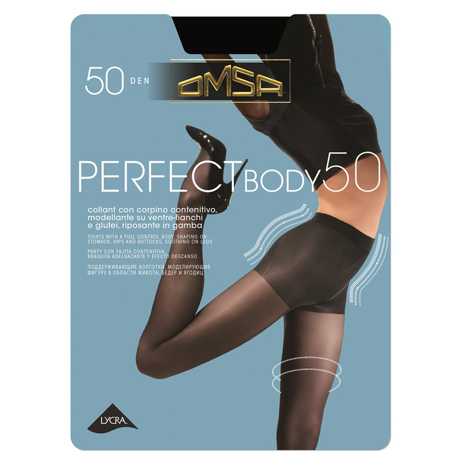 Ladies' tights omsa, black , 919-6388 - 13
