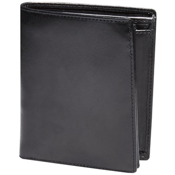 Men's leather wallet bata, black , 944-6121 - 13