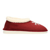 Slippers with artificial fur bata, red , 579-5612 - 15