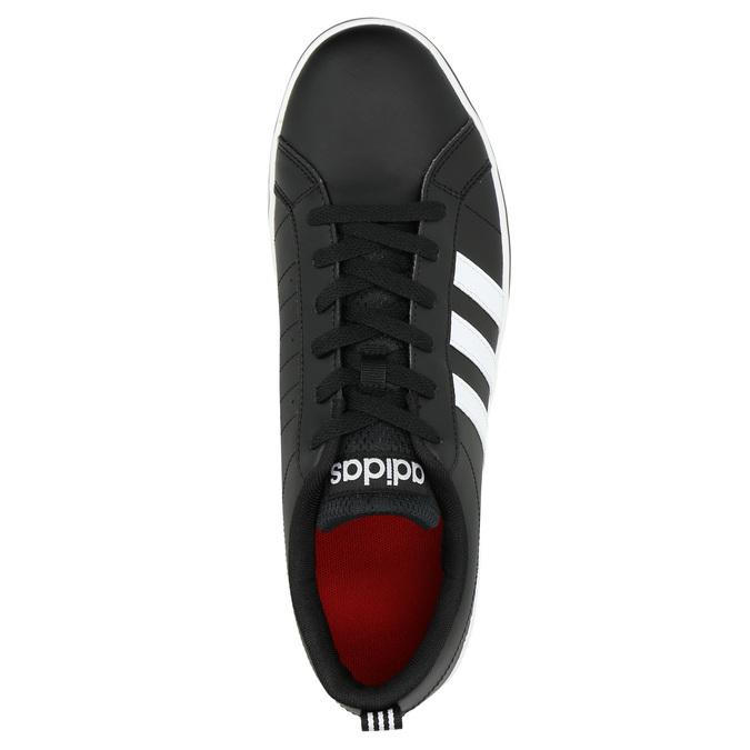 Men's casual sneakers adidas, black , 801-6136 - 19