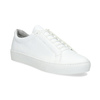 White leather sneakers vagabond, white , 624-1019 - 13