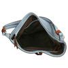 Blue Hobo-style handbag bata, blue , 961-9705 - 15