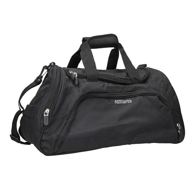Black travel bag american-tourister, black , 969-6164 - 13