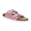 Ladies' leather sandals, pink , 573-5621 - 13