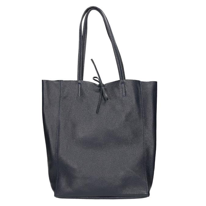 Ladies' leather Shopper handbag bata, blue , 964-9122 - 26