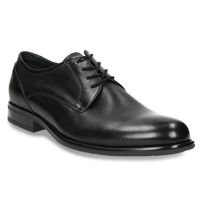 Men's Derby shoes, black , 824-6618 - 13