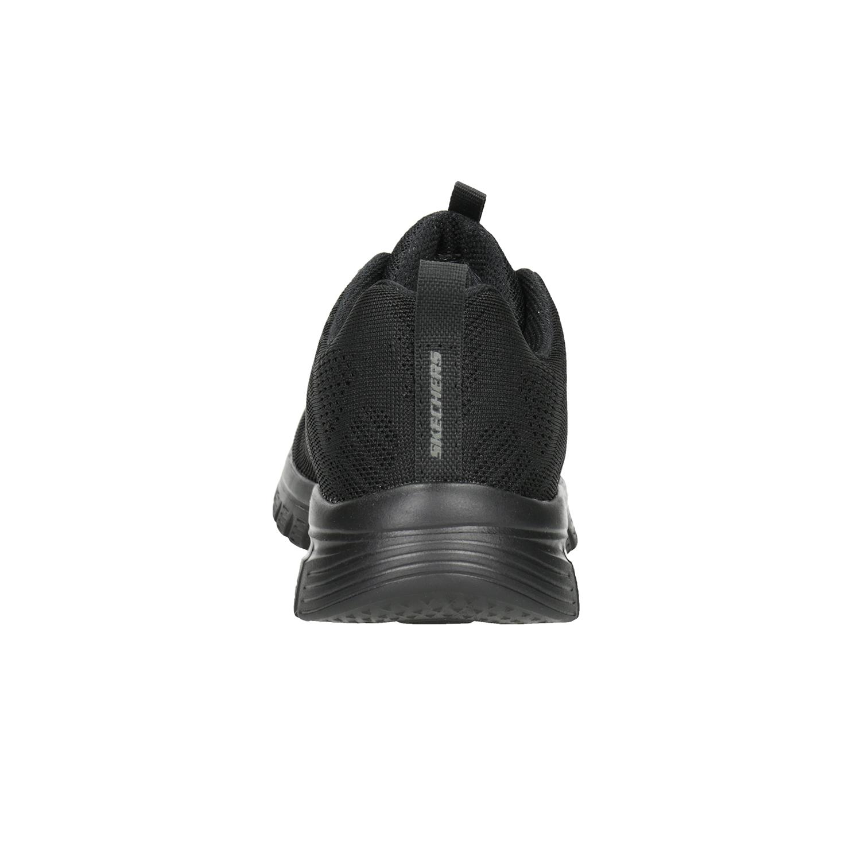 Skechers Black Athletic Sneakers with