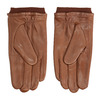 Brown leather gloves, brown , 904-3117 - 16