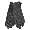 Ladies' leather gloves bata, black , 904-6129 - 13