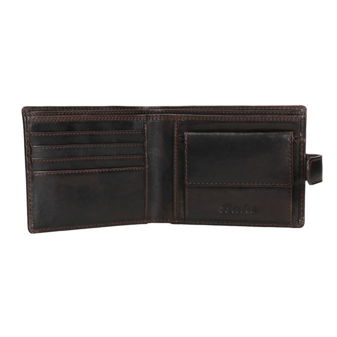 Men's leather wallet, brown , 944-4202 - 15