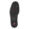 Black leather shoes, black , 824-6451 - 18