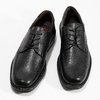 Black leather shoes, black , 824-6451 - 16