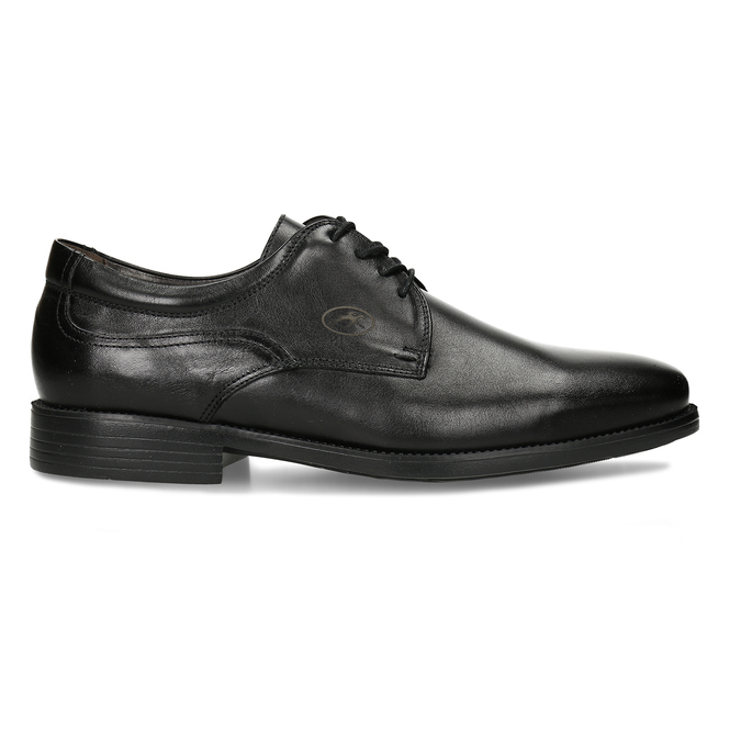 Men's Leather Derby Shoes, black , 824-6440 - 19