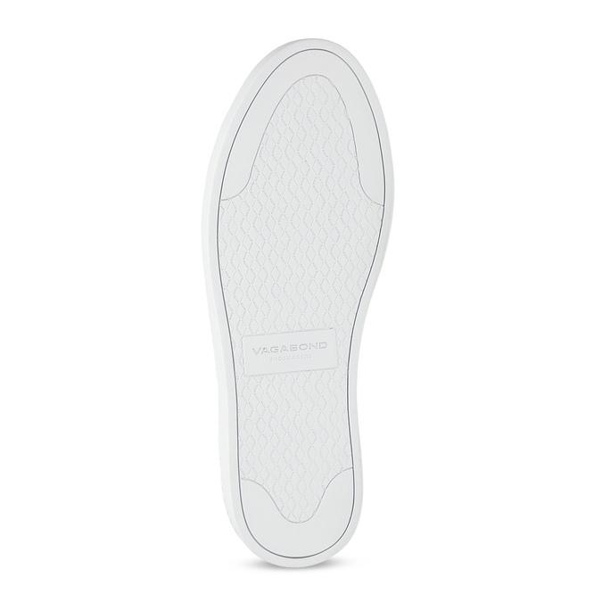Black leather sneakers vagabond, black , 624-6014 - 18