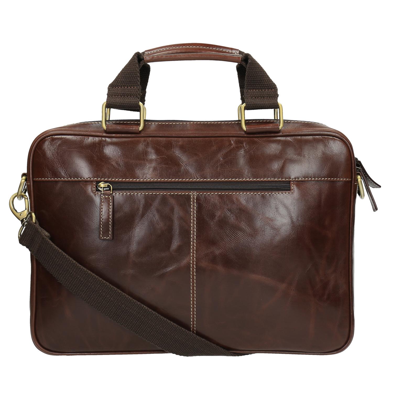 Bata Men's leather satchel - Men Bags